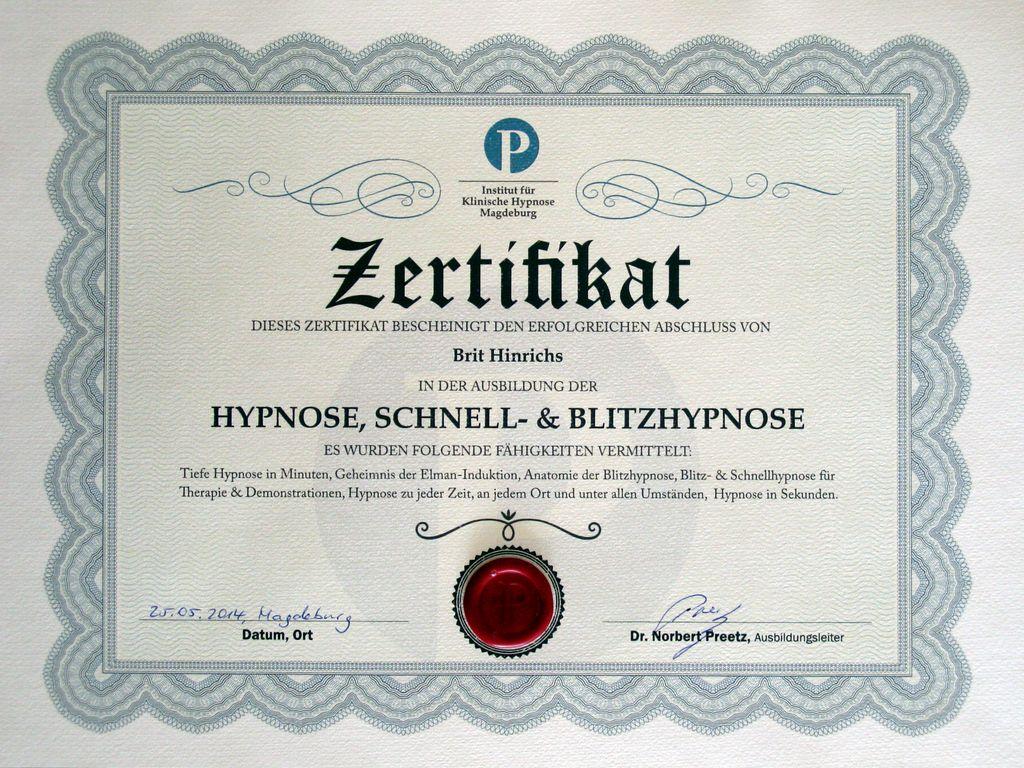 Der runde Würfel - Hypnose